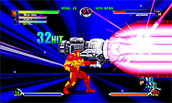 Marvel Vs. Capcom 2 screenshot