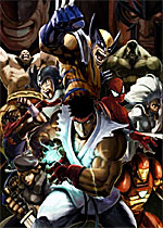 Marvel Vs. Capcom 2 box art