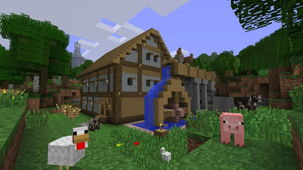 Minecraft: Xbox 360 Edition Screenshot
