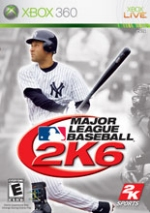 Major League Baseball 2K6 box art