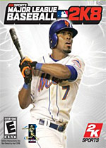 Major League Baseball 2K8 box art