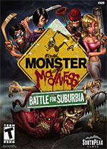 Monster Madness: Battle for Suburbia box art