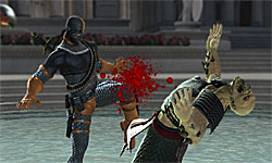 Mortal Kombat vs. DC Universe screenshot