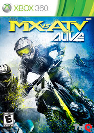 MX vs. ATV Alive Box Art