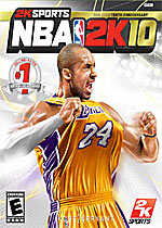 NBA 2K10 box art