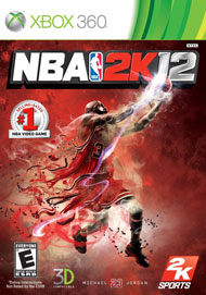 NBA 2K12 Box Art