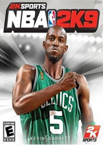 NBA 2K9 box art