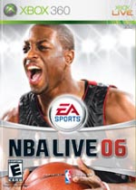 NBA Live 06 Review box art
