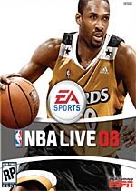 NBA Live 08 box art