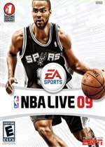NBA Live 09 box art
