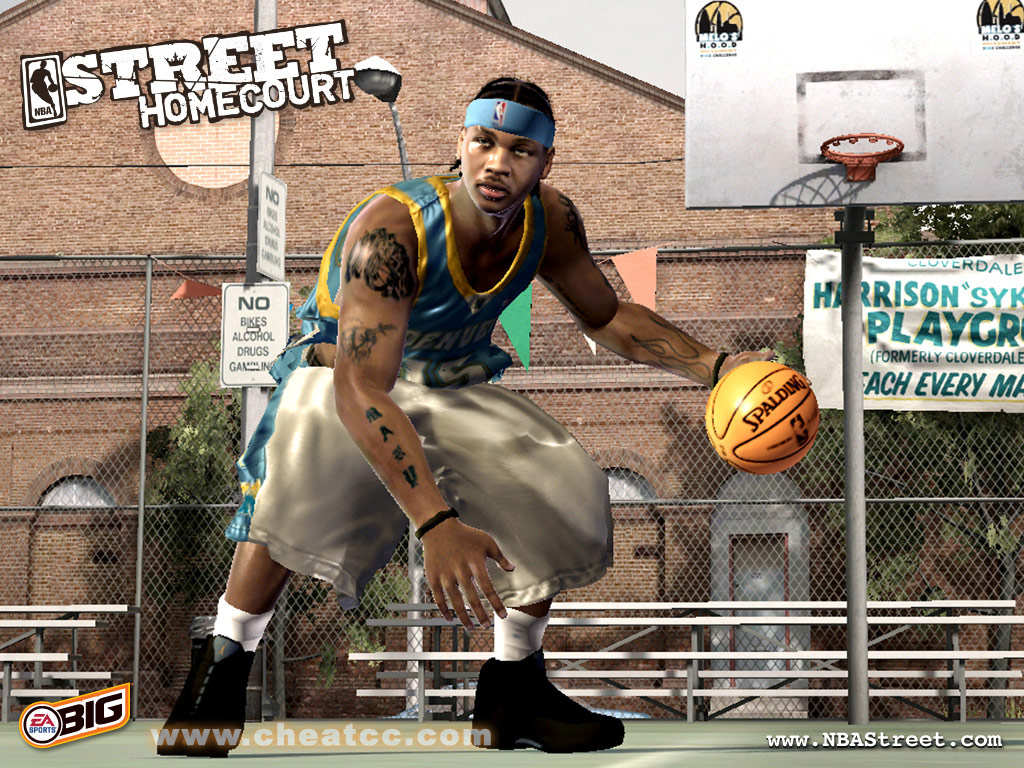 NBA Street Homecourt Review Preview For Xbox 360 X360
