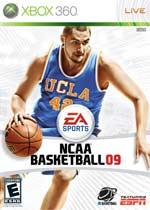 NCAA Basketball 09 box art