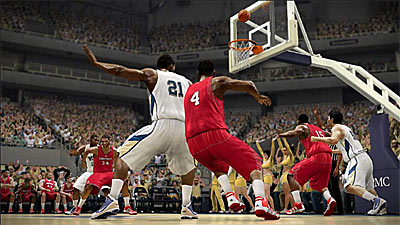 NCAA Basketball 2010 screenshot