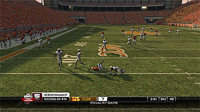 NCAA Football 10 screenshot
