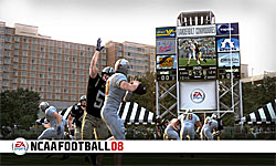 NCAA Football 08 screenshot