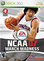 NCAA March Madness 07 box art