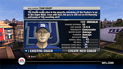 NFL Head Coach 09 screenshot