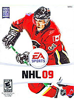 NHL 09 box art