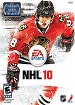 NHL 10 box art