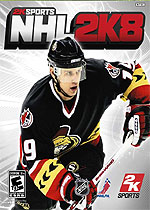 NHL 2K8 box art