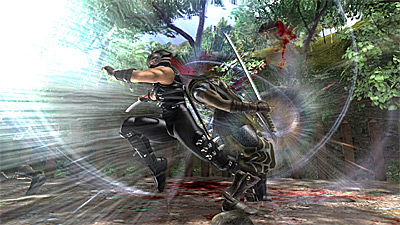 Ninja Gaiden II screenshot