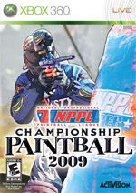 NPPL Championship Paintball 2009 box art