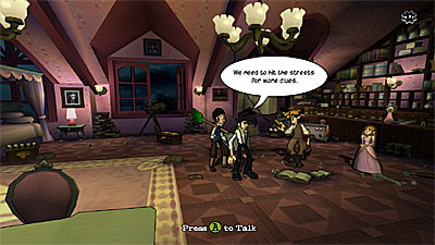 Penny Arcade Adventures: On the Rain-Slick Precipice of Darkness: Episode One screenshot