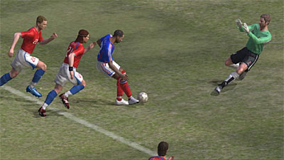 Winning Eleven: Pro Evolution Soccer 2007 screenshot