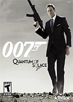 Quantum of Solace box art
