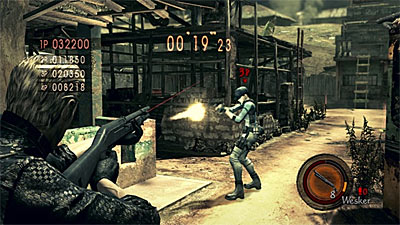 Resident Evil 5: Versus Mode screenshot