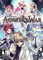 Record of Agarest War box art