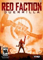 Red Faction: Guerrilla box art