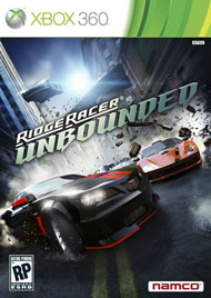 Ridge Racer Unbounded Box Art