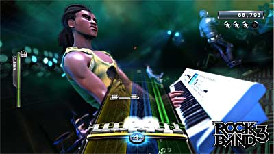 Rock Band 3 screenshot