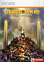 Serious Sam HD: The First Encounter box art