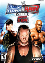 WWE Smackdown! vs. Raw 2008 box art