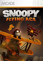 Snoopy Flying Ace box art