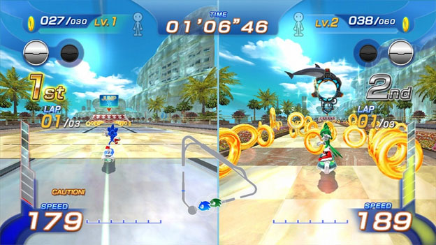 Sonic: Free Riders screenshot