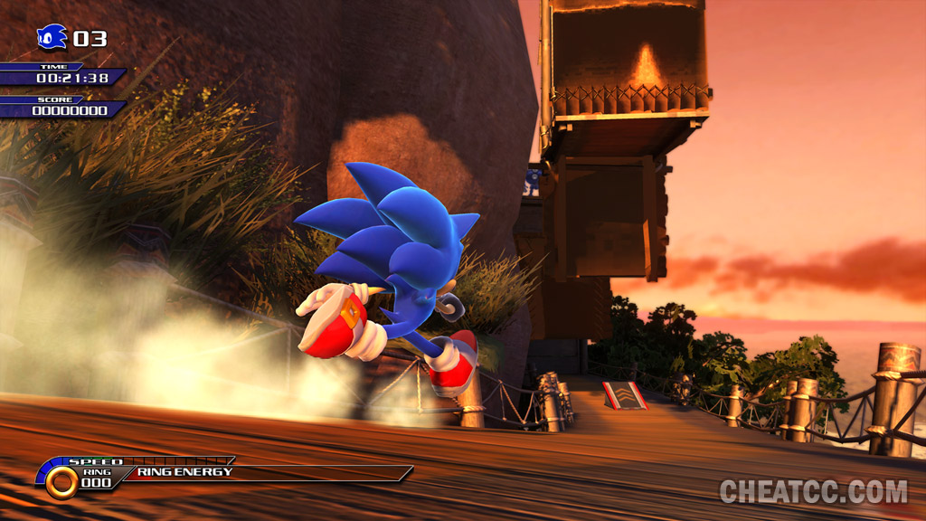 CCC's Sonic Unleashed Launch Site: Reviews, Previews, Cheats