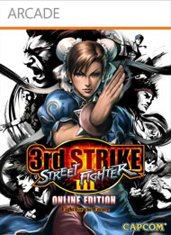 Street Fighter III: Third Strike Online Edition Box Art