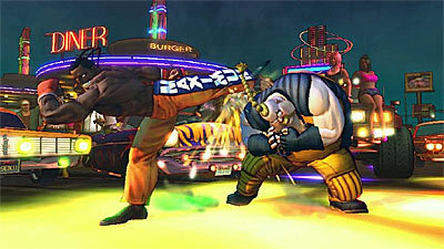 Super Street Fighter IV screenshot