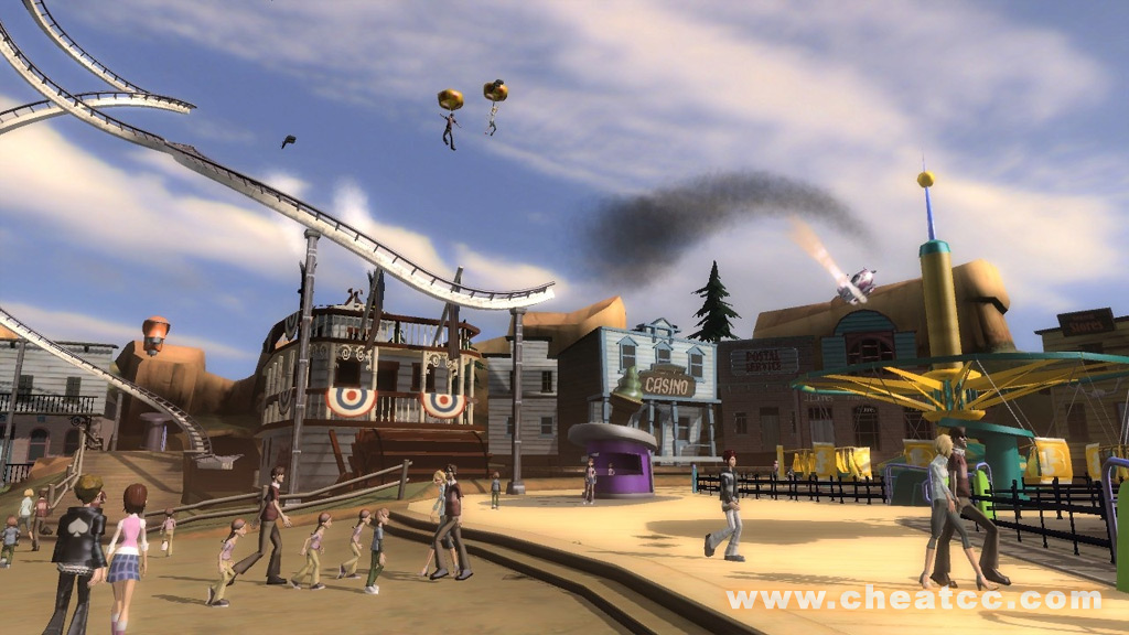 Thrillville Off the Rails Review for Xbox 360 X360