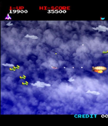 Time Pilot screenshot