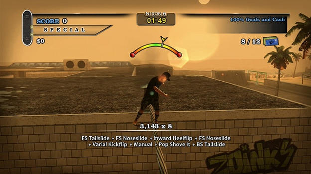 Tony Hawk's Pro Skater HD Screenshot