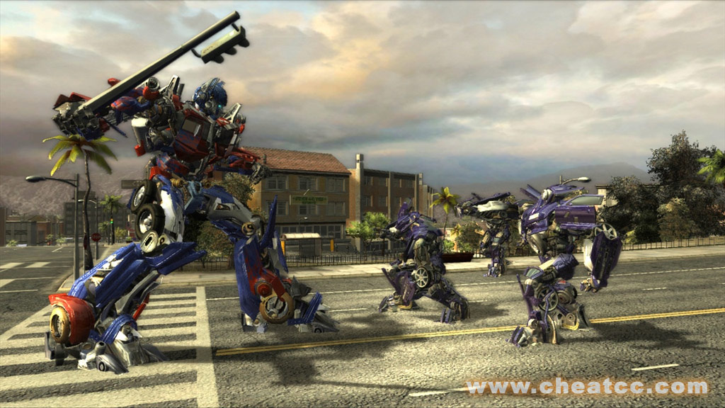 Transformers The Game Preview For Xbox 360 X360