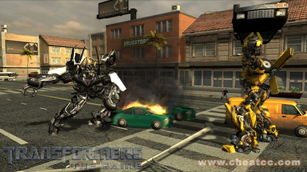 Transformers: The Game Review for PC