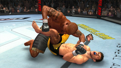 UFC 2009 Undisputed screenshot