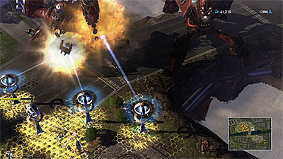 Universe at War: Earth Assault screenshot