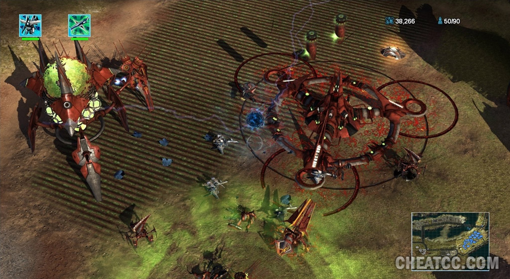Universe at War: Earth Assault Review for Xbox 360 (X360)
