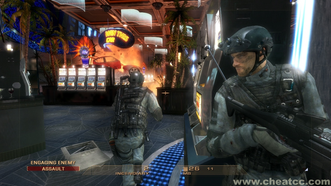 Tom Clancy S Rainbow Six Vegas Review Preview For Xbox